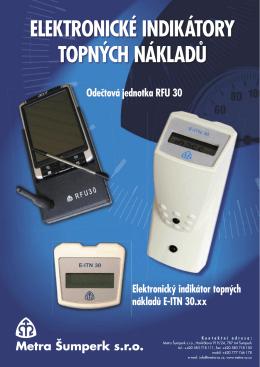 Elektronický indikátor topných nákladů E-ITN 30.XX