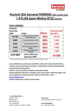 OSTRAVA 2013 - IDA červená ferrari + ATLAS jasan molina
