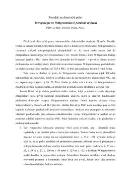 Posudek - PhDr. et Mgr. Antonín Dolák, Ph.D.