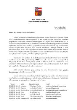 Informace o projektu na výměnu kotlů na pevná paliva