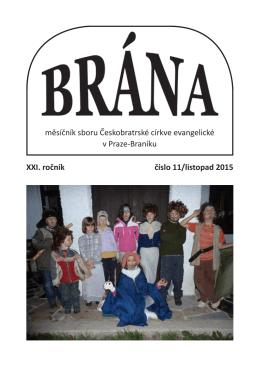 Brána XI/2015