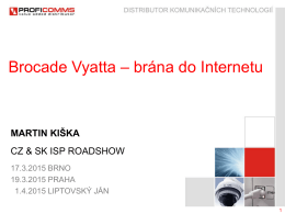 Brána do Internetu přes Borcade Vyatta Firewall – Software vs