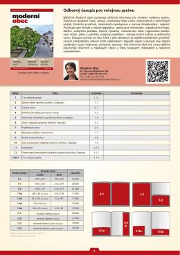 Odborný časopis pro veřejnou správu