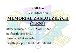 MEMORIÁL ZASLOUŽILÝCH ČLENŮ,