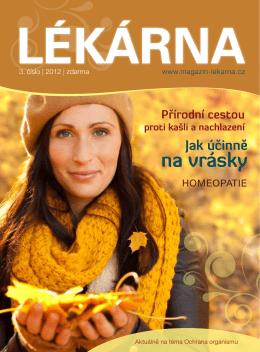 Lékarna – 3.číslo 2012
