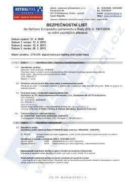 CTX-570 algicid extra pro bazény (ničí vodní řasu)