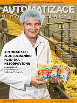Stáhnout PDF verzi časopisu - Automatizace v potravinářství