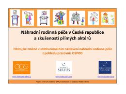 NRP v ČR po novele zákona o sociálně