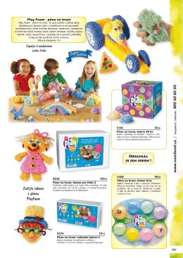Zažijte zábavu s pěnou PlayFoam