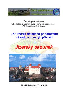 Jizerský okounek - Mladá Boleslav - Český rybářský svaz, zs, místní