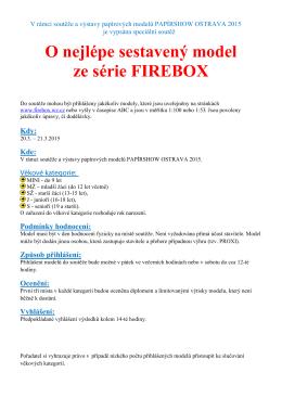 O nejlépe sestavený model ze série FIREBOX