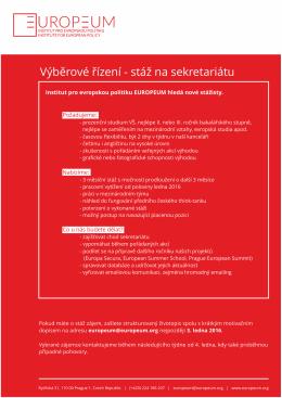 PDF Stáž sekretariát