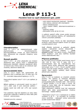 Lena P 113-1 - Lena Chemical sro