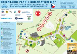 pláncích areálu - Dny NATO v Ostravě