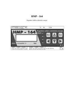Word Pro - HMP 164 navod 000.lwp
