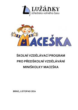 ŠVP - SVČ Lužánky