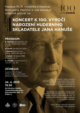 koncert 24.4.2015