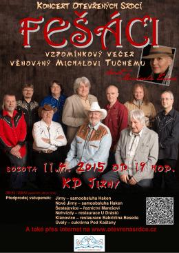 Pozvánka na koncert 11. 4. 2015
