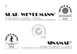 Weyermann Product Information