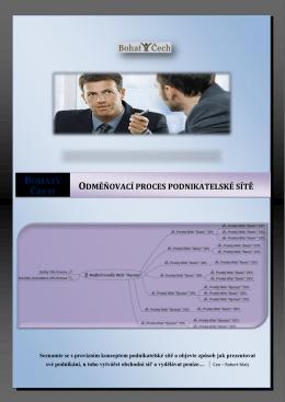 Odměňovací proces podnikatelské sítě
