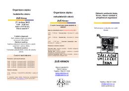 informace pro rodiče a žáky