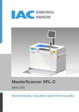 Brožura MasterScanner XPL-C.pages