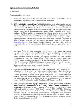 16.9.2015 - Česká pneumologická a ftizeologická společnost ČLS JEP