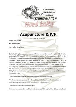 Acupuncture & IVF - 1. Škola tradiční čínské medicíny