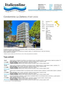 Condominio La Zattera