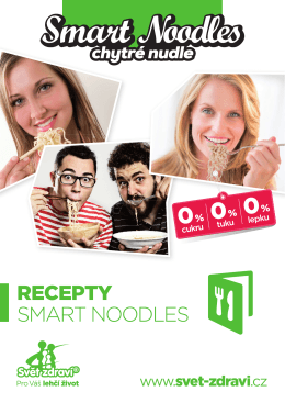 RECEPTY SMART NOODLES