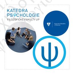 Členské a partnerské organizace - Katedra psychologie Filozofické