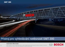 Přístroj pro vyhledávání netěsností SMT 300