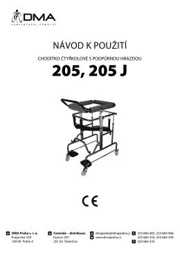 Chodítko 205(J)