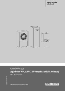 Návod k obsluze Logatherm WPL AR 6