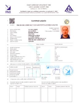 Certifikát svářeče_MŠ - Specion-CTS