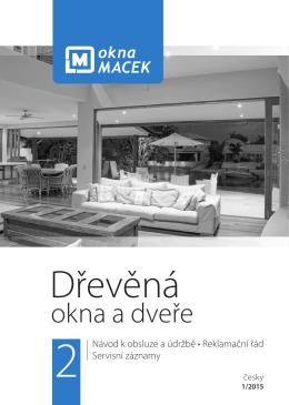 Dřevěná - Okna Macek