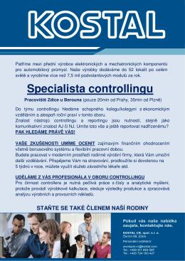 Specialista controllingu