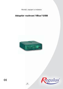 Adaptér rozhraní VBus®/USB