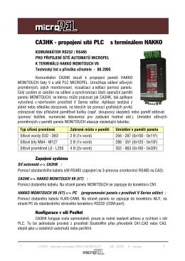 Micropel – Sestava Hakko GT606