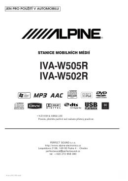 IVA-W505R IVA-W502R - Web