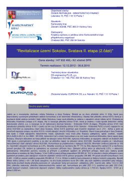 Revitalizace území Sokolov Svatava II etapa 2 část 0715