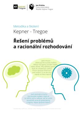Kepner - Tregoe Řešení problémů a racionální - Kepner