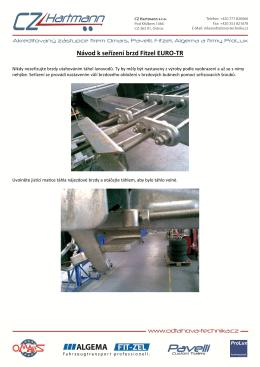 Nastavení brzd přívěsných vozíků - odtahova