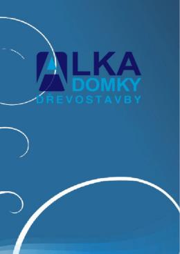Online katalog - Alka domy s.r.o.