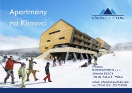 Brožura - Klínovec Hills