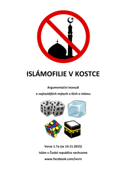 Islamofilie v kostce