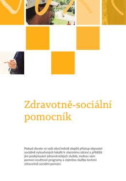 Zdravotně-sociální pomocník - Agentura pro sociální začleňování