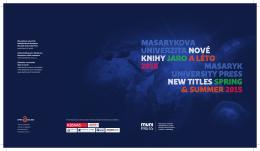 Jaro a léto 2015 - Munispace