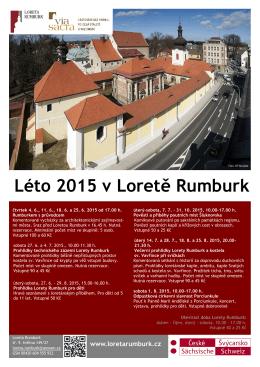 Léto 2015 v Loretě Rumburk