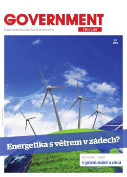 Energetika s větrem v zádech?